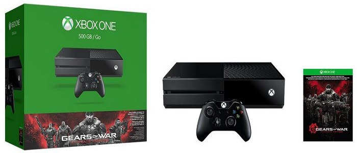 Xbox One 500GB Console - Gears Of War - Ultimate Edition Bundle