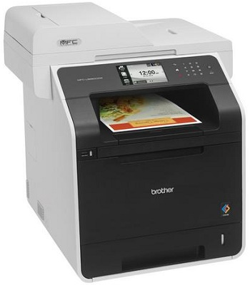 Brother Printer Wireless Color Laser Printer With Scanner, Copier And Fax