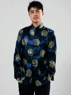 Traditional Chinese Clothing For Man Tops Spring