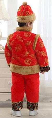 Ava Costume Little Boy's Chinese Traditional Clothing Tang Suit Costume