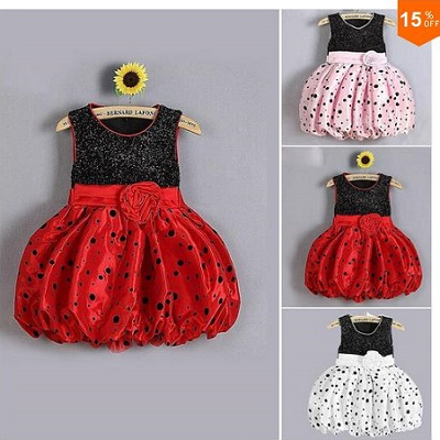 2016 Baby Girl Clothes Dress