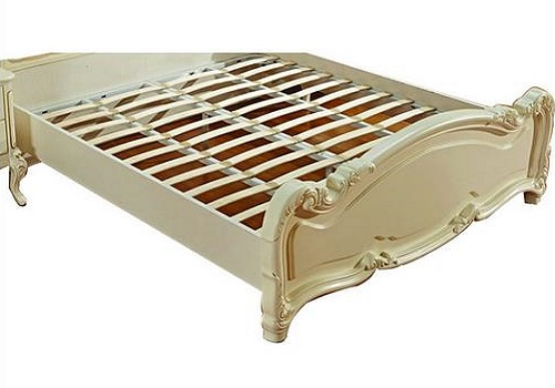 European-Style Wood Storage Box 1.8m Double Bed