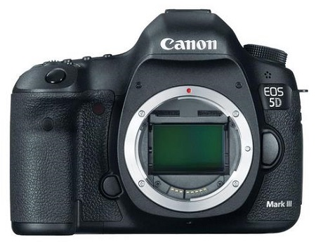 Canon EOS 5D Mark III With 1080P Full-HD Video Digital SLR Camera