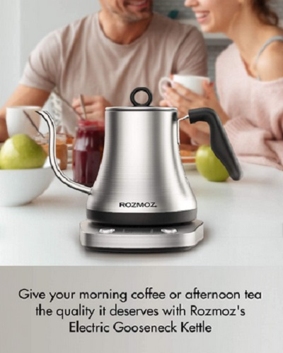 Rozmoz Electric Kettle With Temperature Control
