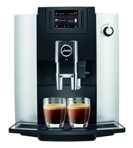 Jura E6 Automatic Platinum Coffee Center