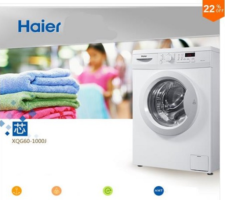 Haier XQG60-1000J Stainless Steel Washing Machine