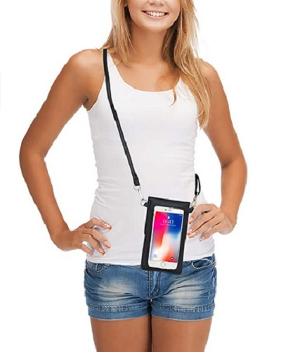 AnsTOP Lightweight Leather Phone Purse And Shoulder Bag