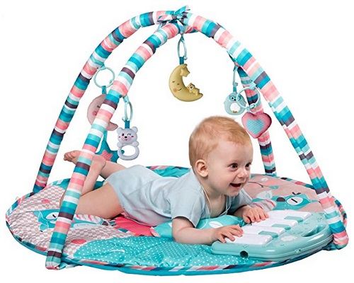 Tapiona Large Baby Play Gym, Kick and Play Piano Activity Mat