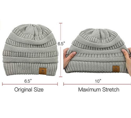 Durio Soft Warm Knitted Baby Caps