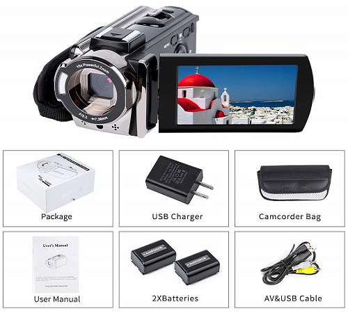 Video Digital YouTube Camera Camcorder