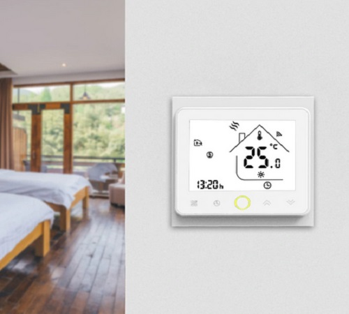 Wifi Smart Thermostat Temperature Controller For Water And Electric Floor Heating