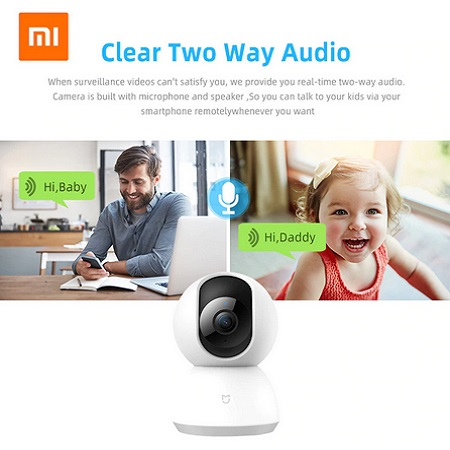 Xiaomi Mijia Mi 1080P IP Smart Camera 360 Angle Wireless Wifi