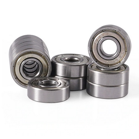 10 Pieces Double Shielded Miniature High-Carbon Steel Single Row