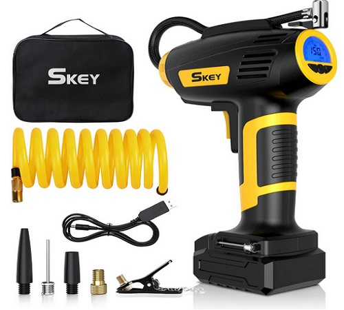 SKEY Tire Inflator And Portable Air Compressor