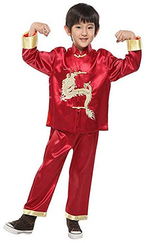 Suimiki Traditional Chinese Dragon Kung Fu Outfit