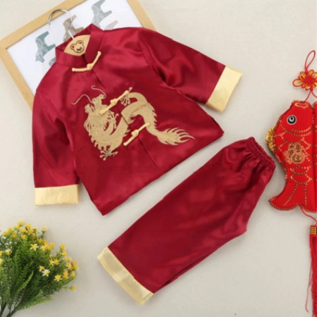 Boy Chinese Style Dragon Tang Costume
