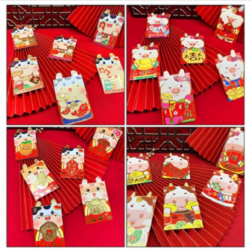 Aboofan 36 Pieces Chinese New Year Red Envelopes 2021