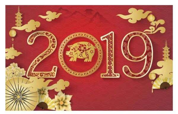 2019 Chinese New Year Greeting Cards